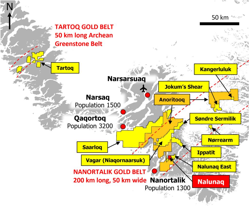 Anoritooq Licence Map