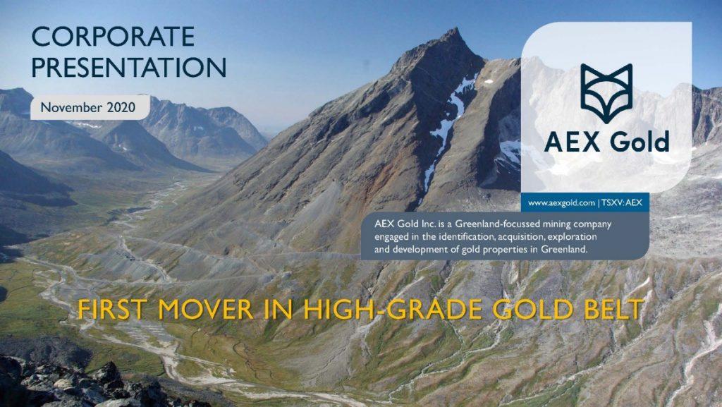 Aex Gold Corporate Presentation Nov 20 Page 01