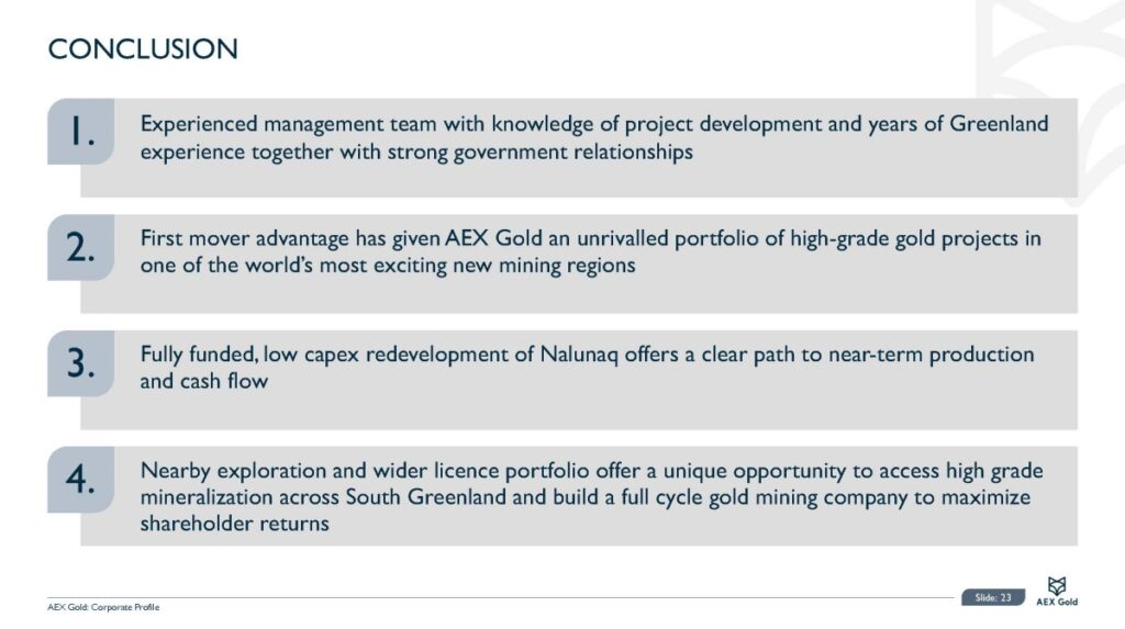 Aex Gold Corporate Presentation Nov 20 Page 23